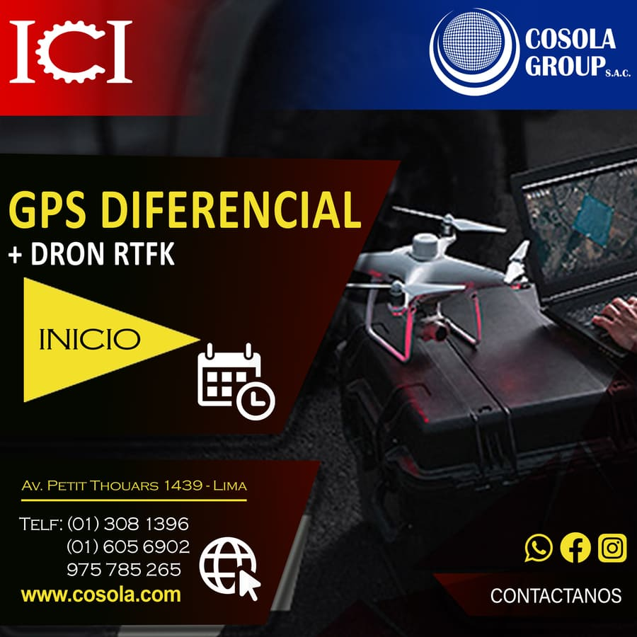 GPS Diferencial Drone RTK